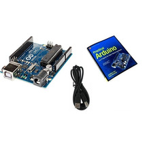 Placa Arduino Uno R3 Rv3 Atmega328 + Cabo Usb + Ebook