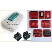 Kit Gravador Tl866cs Tl866 Cs Bios Spi Flash Eprom Ecu Tunin