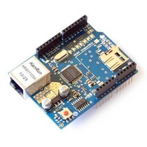 Arduino Ethernet Shield W5100 Com Slot Para Sd Card