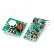 Módulo Rf 433mhz - Kit Transmissor = Receptor Para Arduino