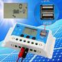 Controlador De Carga Painel Solar 10 Amperes10a Lcd Digital
