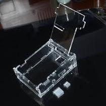 Case Acrilico Raspberry Pi B+ Com Dissipador Calor