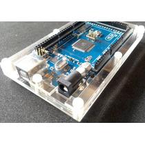Caixa / Case Box / Gabinete Arduino Mega Acrílico Transpar.