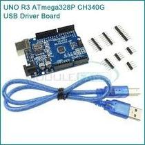 Arduino Ch340g - Uno R3 Atmega328 + Cabo Usb Automação