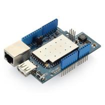 Shield Yun Wireless E Ethernet Para Arduino, Pronta Entrega