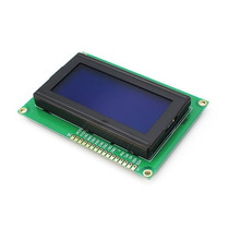 Display Lcd 16x4 1604 Fundo Azul Arduino