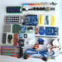 Kit Atualizada Arduino Uno R3 Nano Usb Protoboard Lcd Diodos