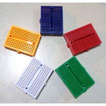5 Mini Protoboard De 170 Pontos De Alta Qualidade