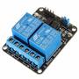 Módulo Relé 5v - 2 Canais - Arduino/pic/arm/avr