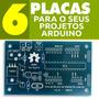 Placa Kit Arduino Standalone Projetos Realizados Com Atmega