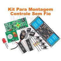 Kit Controle Sem Fio De 4 Canais Para Montagem