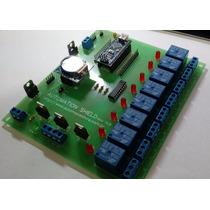 Placa Automação Residencial 2.0 - Shield + Arduino + Rtc
