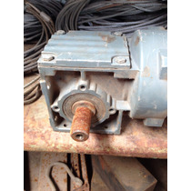 Redutor 1/35 Para Adpitar Em Motor Eletrico