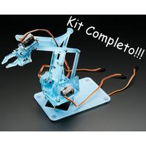 Super Kit Braço Róbotico Educacional Completo! P/ Arduino