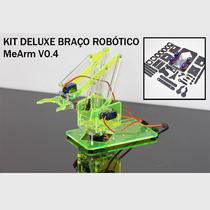 Braço Robótico Completo Para Arduíno Ou Raspberry Mearm