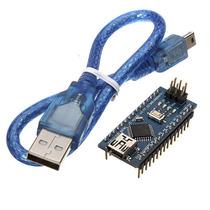 Placa Arduino Nano 3.0 Atmel Atmega328 Mini-usb Com Cabo
