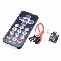 Kit Controle Remoto Infravermelho | Arduino Módulo Ir Automa