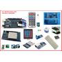 Kit Arduino Mega 2560 - Shildes E Sensores