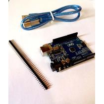 Placa Arduino Uno R3+sensor Temperatura E Umidade- Garantia