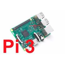 Kit Raspberry Pi3 Pi 3 + Case + Fonte + Dissip + 16gb C10