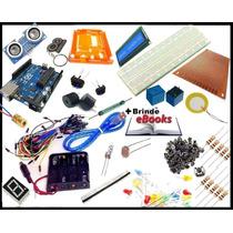 Super Kit Iniciante P/ Arduino C/ 118 Componentes (ver. 2.0)