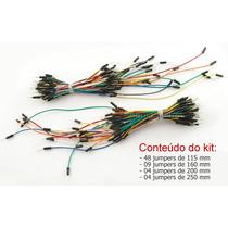 Kit 65 Jumpers Macho Para Protoboard - Projeto Eletronica