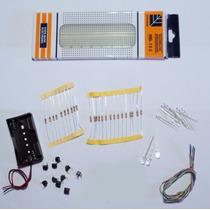Kit Inicial Eletrônica Protoboard Pode Se Usar Com Arduino