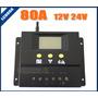 Controlador De Carga 80 Amp Painel Solar Pwm