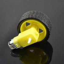 Motor Cc Caixa De Redução Redutor 3v-6v Robótica Arduino Pic
