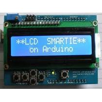 Módulo Tela Lcd Shield 16x2 Arduino E Placa De Expansão