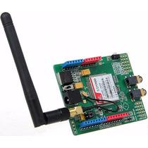 Arduino Pic Shield Modulo Gsm Gprs Sim900 + Antena