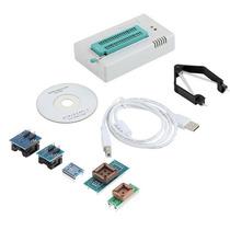 Gravador Usb Tl866 Cs Bios Spi Flash Eprom + 5 Adaptadores