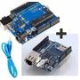 Arduino Uno R3 + Ethernet Shield W5100 + Cabo - No Brasil!