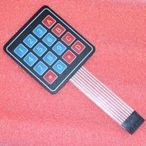 Teclado Membrana Matricial 4x4 16 T Arduino Fret Merc Envios
