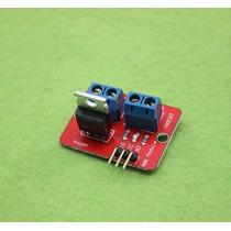 Placa Com 1 Rele Eletrônico Mosfet Para Arduino