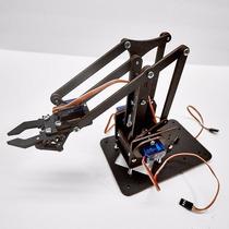 Kit Completo Braço Robótico + 4 Servos + Parafusos Arduino