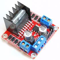 Módulo Ponte-h L298n Motor De Passo E Dc - Arduino, Pic, Avr