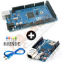 Arduino Mega 2560 R3 + Ethernet Shield W5100 Sd + Diversos
