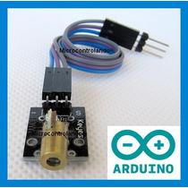 Modulo Laser 5mw Vermelho + Cabo + Exemplo - Arduino