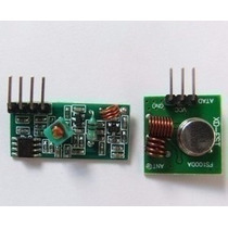 Módulo Rf Transmissor Receptor 433mhz Para Arduino
