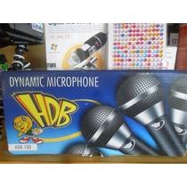 Microfone Para Videokê - Hdb Fio 5 Metros