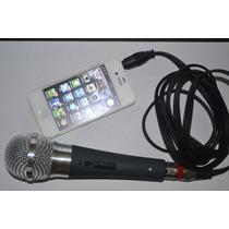 Microfone Profissional Para Iphone, Ipad, E Outros Smarts