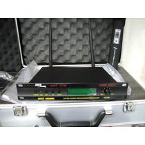 Microfone Sem Fio Skp Uhf 270 Com Case