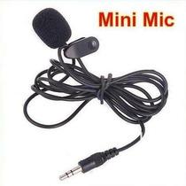 Mini Microfone De Lapela Plug P2 3,5mm... Frete + Barato