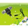 Mini Microfone Sony Stéreo Plug P2 Banhado Ouro + Cabo