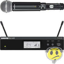 Microfone Shure Sem Fio Blx24rbr / Sm58 Loja Credenciada