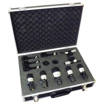 Kit De Microfones Para Bateria + Case + Clamp Mxds 7