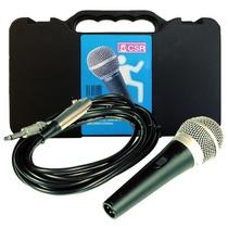 Microfone Csr Ht48a Com Cabo + Case