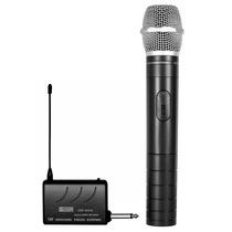 Microfone Sem Fio Csr2010 Vhf Para Filmadora
