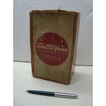 Caixa Do Antigo Microfone Marca Eletro-voice Modelo 950